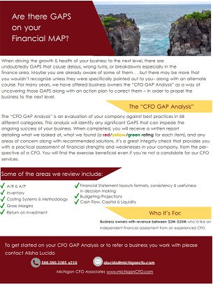 The CFO GAP Analysis